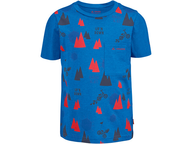 VAUDE Tammar AOP T-Shirt Kids, radiate blue